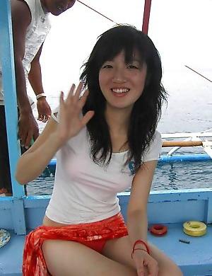 Asian public porn